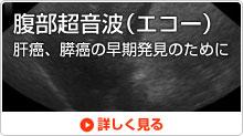 腹部超音波(エコー)